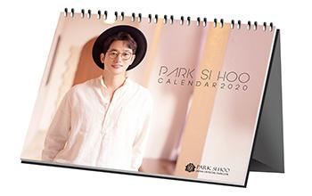 パク・シフ ファンミーティング2020公式グッズ:卓上カレンダー&バースデーイベントDVD